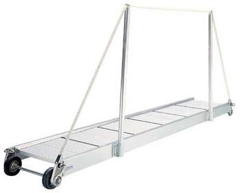 """Gangway """"PA160.20"""", Manual Gangway 2000mm Alum w/Alum Deck Finish"""