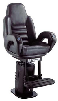 "P216 ""President"" w/Elec. Adj. Pedestal & Footrest Owner Supplied Finish"