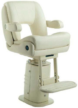 "P217 ""President Sport"" w/Elec. Adj. Pedestal & Footrest Imitation Leather Finish"