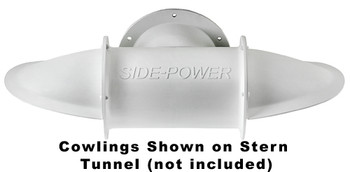 """SM90077 Set of Cowlings for 185mm (7.3"""") Stern Tunnel Long Composite"""
