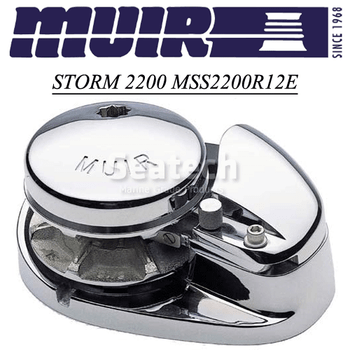 Muir Storm 2200 Low Profile 12V Windlass MSS2200R12E