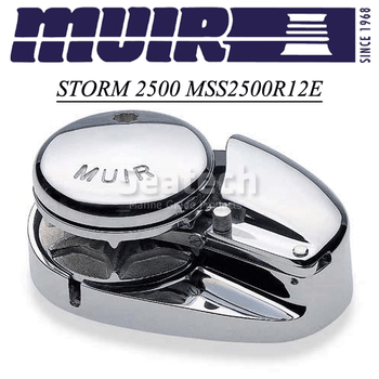 Muir Storm 2500 Low Profile 12V Windlass MSS2500R12E