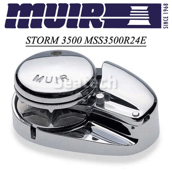 Muir Storm 3500 Low Profile 24V Windlass MSS3500R24E