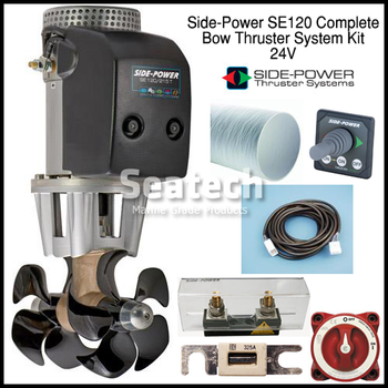 Side-Power SE120 Complete Bow Thruster Kit