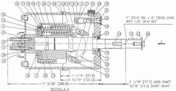 Dimensional Drawing of Kobelt 7012