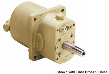 Kobelt 7003-BN Variable Displacement 1.0-3.0in³ Hydraulic Marine Helm Pump - Black Epoxy Finish with Short Shaft