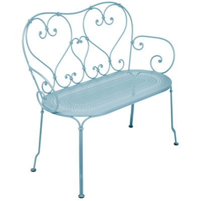 1900's Bench in Fjord Blue