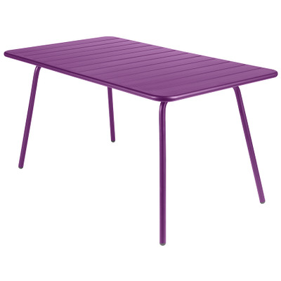 Luxembourg Rectangle Table Aubergine
