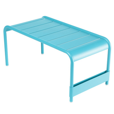 Luxembourg Large Bench in Turquoise