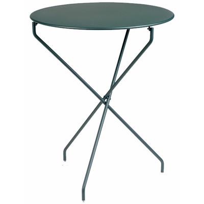 "The Tertio 24"" folding table."