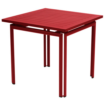 Costa square table by Fermob