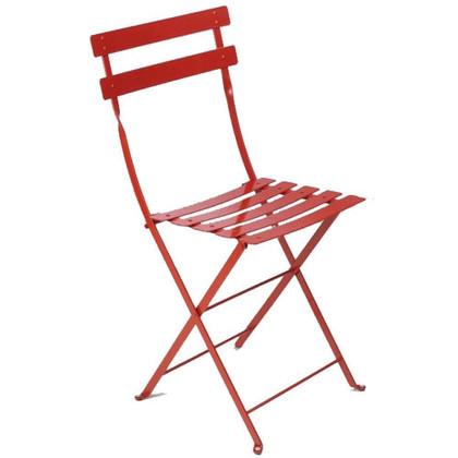 Folding Metal Chairs Set Of 2 Bistro Patio Furniture