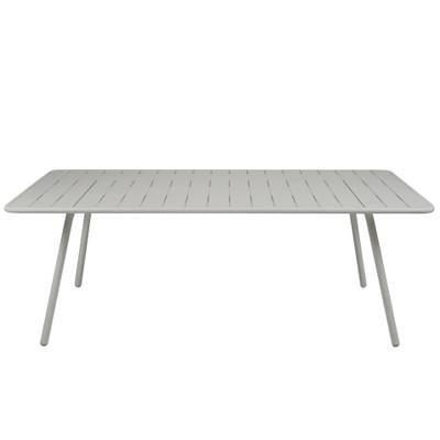 Luxembourg medium size table Steel Grey