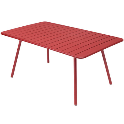 Luxembourg Large Rectangle Table Chili