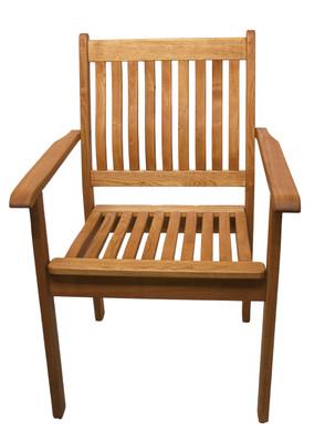 Stackable Wood Armchair