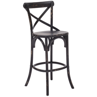 Bar Height Stool - Antique Black