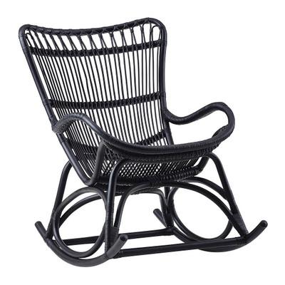 Monet Rocking Chair, Matte Black