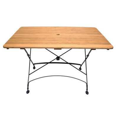 Rebecca Rectangle folding table