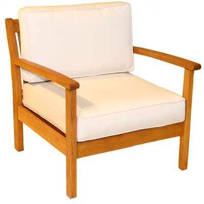 Kamea Arm Chair with Canvas Cushion