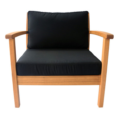 Kamea Armchair with black cushion