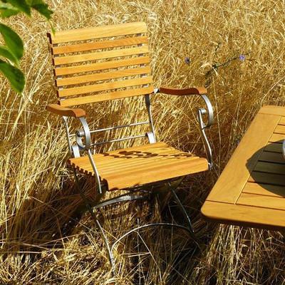 Haste Garden Estella Folding Arm Chair