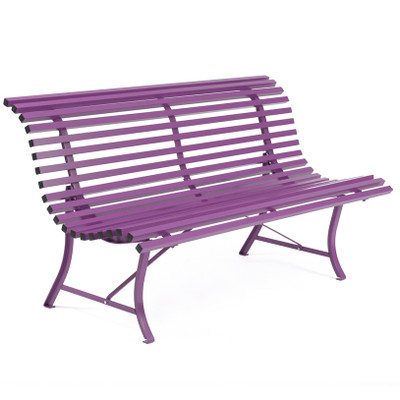 "59"" Louisiane Bench Aubergine"