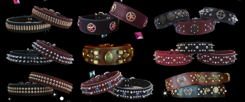 Premium Leather Dog Collars