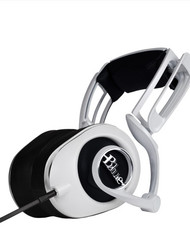 Blue LOLA Headphones - White - www.AtlasProAudio.com