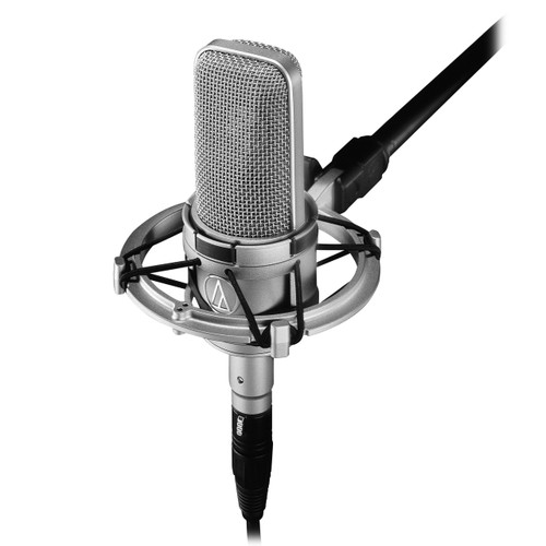 Audio Technica AT4047/SV in shockmount - www.AtlasProAudio.com