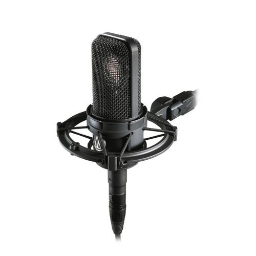 Audio Technica AT4040 in shockmount - www.AtlasProAudio.com