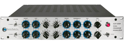 Summit Audio EQP-200B - Front Angle - AtlasProAudio.com