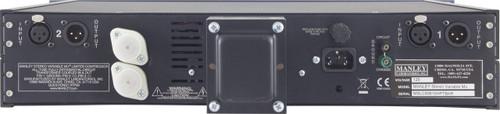 Manley Stereo Variable Mu Mastering Version - Rear View