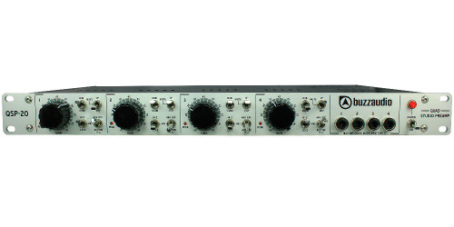 QSP-20 - 4 Channel Mic Preamp - www.AtlasProAudio.com