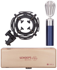 Schoeps V4 U (Blue) with Shockmount