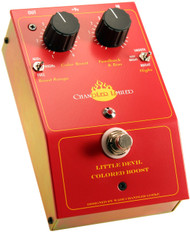 Chandler Little Devil Colored Boost Guitar Pedal