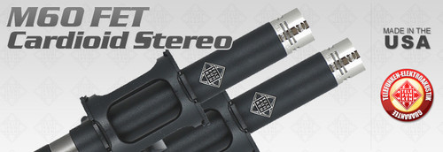 The M60 FET Cardioid Stereo Set