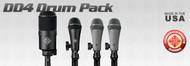 Telefunken Elektroakustik DD4 Drum Mic Set - AtlasProAudio.com