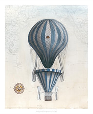Vintage Hot Air Balloons IV
