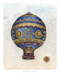 Vintage Hot Air Balloons V