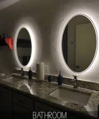 Infinity - Lighted Mirror