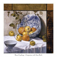 Bruno Capolongo  	 Composition with Asian Bowls (Contemporary Still-Life #6) 	 CBP301   13