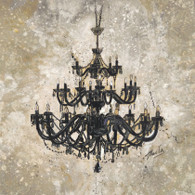 Marta G. Wiley  	 Onyx Chandelier 	 WMP109  13