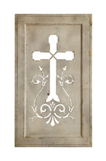 Tin Vintage Cross DA1595
