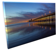 California pier FLS90819665 Gallery Wrapped Canvas 18 x 24