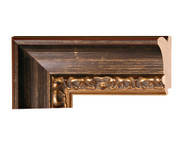 """Style# 80055 Color/Finish: Gold  Ornament: Contemporary  Collection: Veneto  Width: 3 1/4 """" Rabbet Depth: 1/2 """" Catalog Page #: 40"""