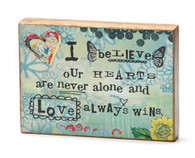 Our Hearts Sentiment Block