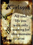 All your life you were only waiting for this moment to arise