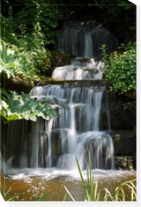 Waterfall #1  Brian Little  26 x 38 Overall Dimensions  Gallery wrapped canvas