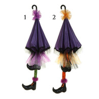 UMBRELLA WITH WITCH LEGS