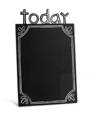 Today Magnetic Chalkboard